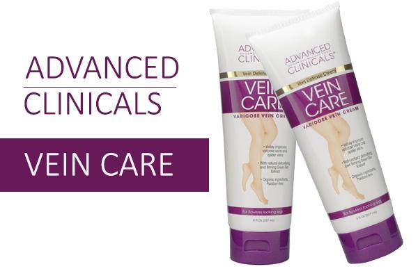 Kem Advanced Clinical Vein Care giúp hỗ trợ điều trị cho người bị suy giãn tĩnh mạch