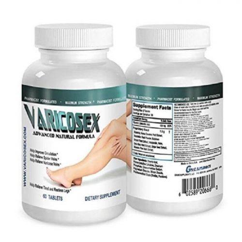 Viên uống trị suy giãn tĩnh mạch varicofix